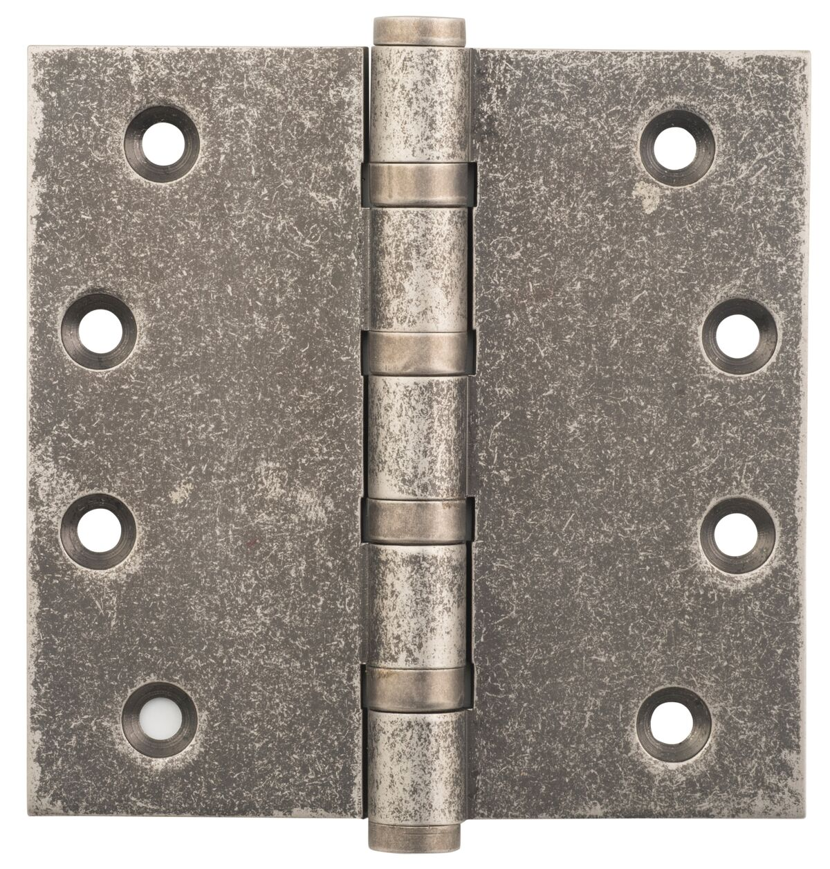 Rumbled Nickel Hinge