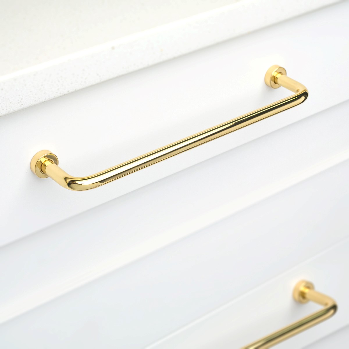 Polished Brass Cabinet Handle