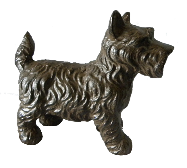 Scottish Dog Door Stop