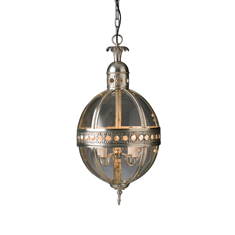 Traditional Ball Pendant Light
