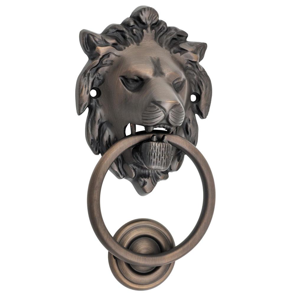 Antique Lion Head Knocker