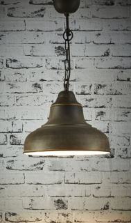 Industrial Metal Shade Pendant