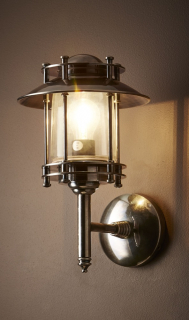 Brass Exterior Light